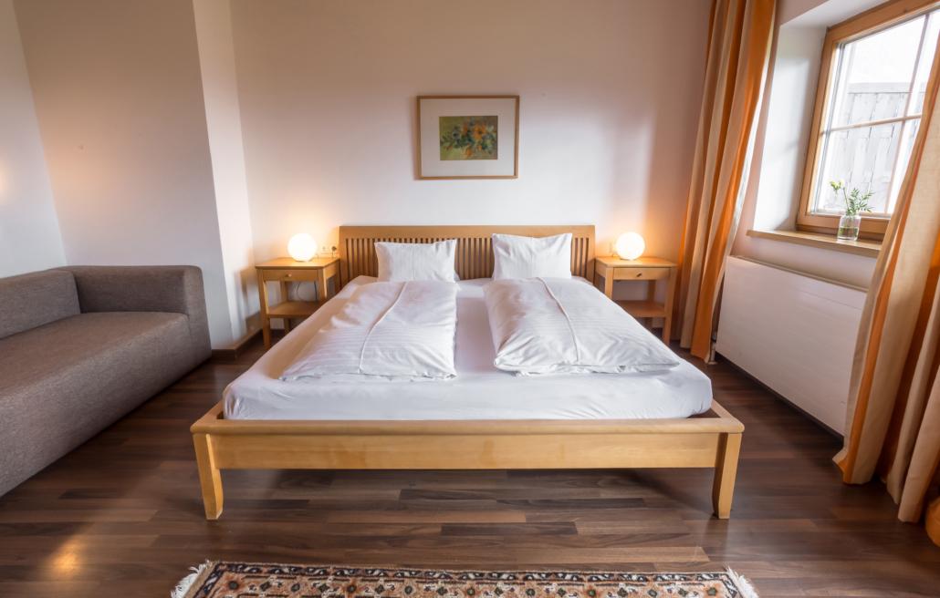 Grüne Erde Doppel- oder Dreibettzimmer, Bacherhof