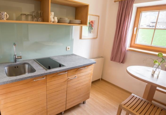 Grüne Erde Doppelzimmer Kochnische, Bacherhof