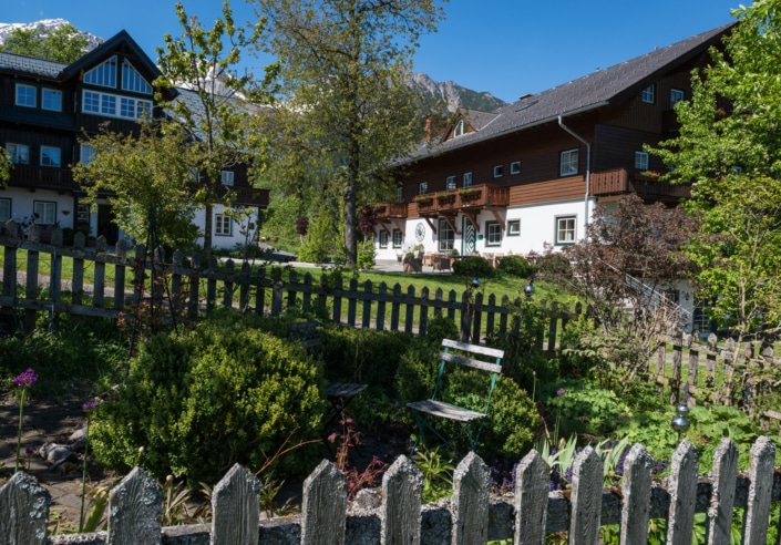Bauerngarten und lauschiges Plätzchen, Bacherhof