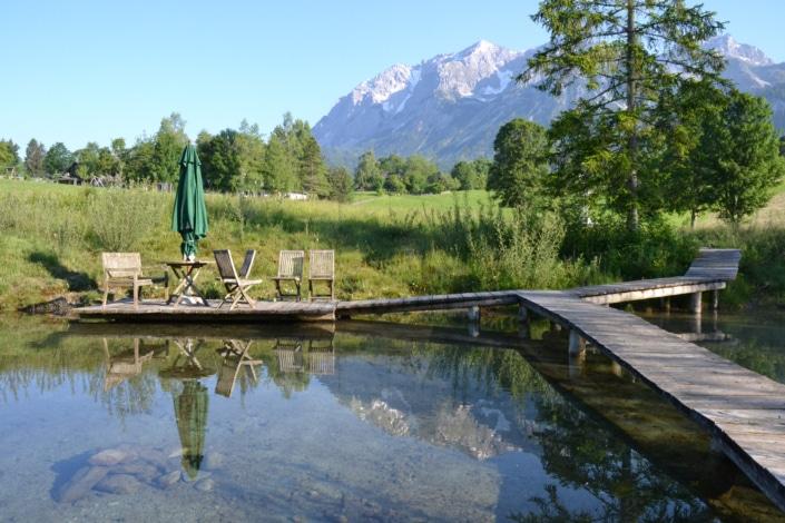Ruhe und die malerische Umgebung genießen, Bacherhof Ramsau am Dachstein