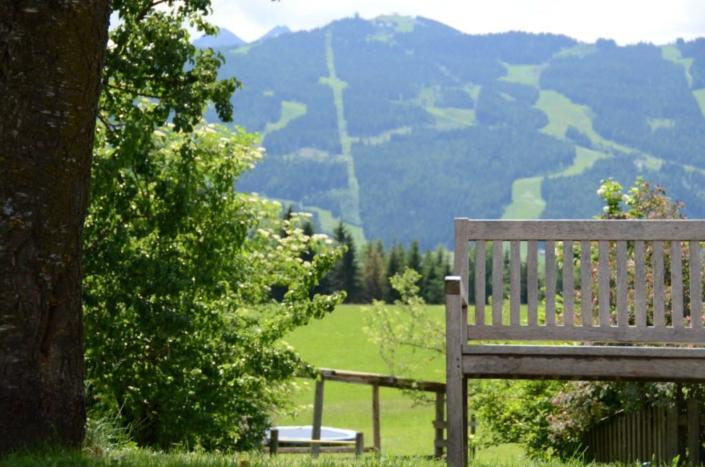 wundervolle Ausblicke in die Schladminger Tauern, Bacherhof