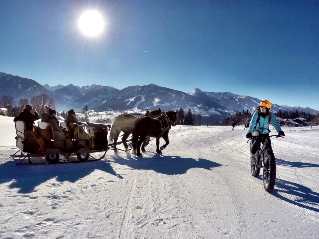 aktiv im Winterurlaub, Fatbike Touren in Ramsau am Dachstein