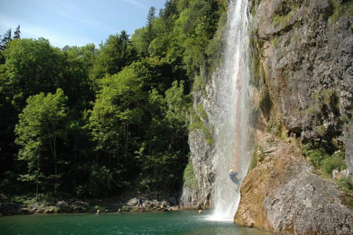 Outdoor Aktivitäten in der Urlaubsregion Schladming-Dachstein, Salzawasserfall