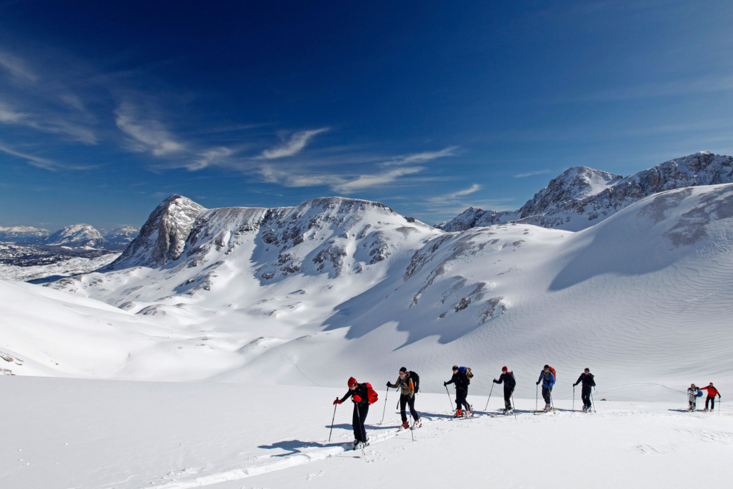 Skitouren auf 2700m am Dachstein Gletscher