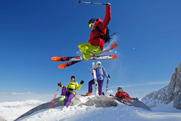 Freeride & Skitouren Abenteuer am Dachstein