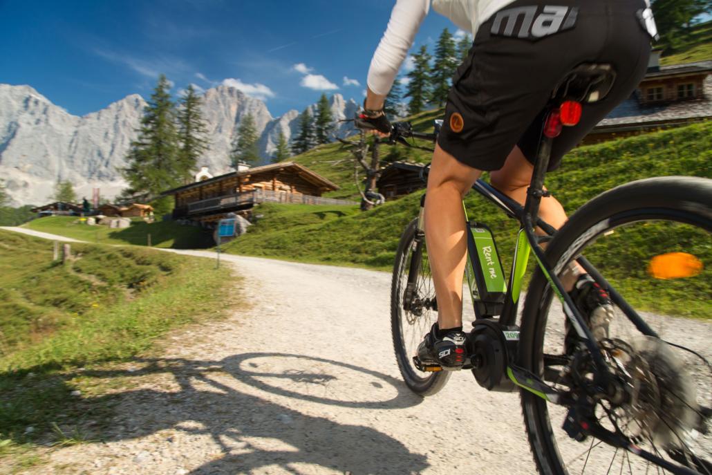 MTB und E-Bike Touren in die Ramsauer Almenregion