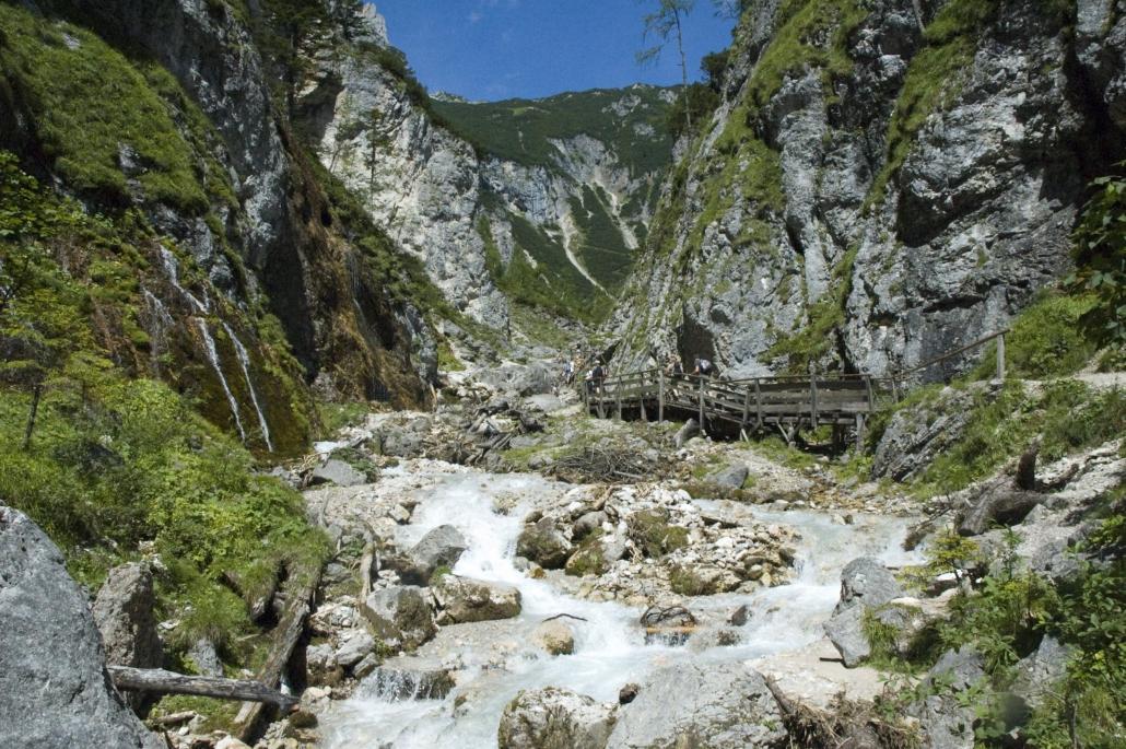 Wandererlebnis Silberkarklamm in Ramsau am Dachstein