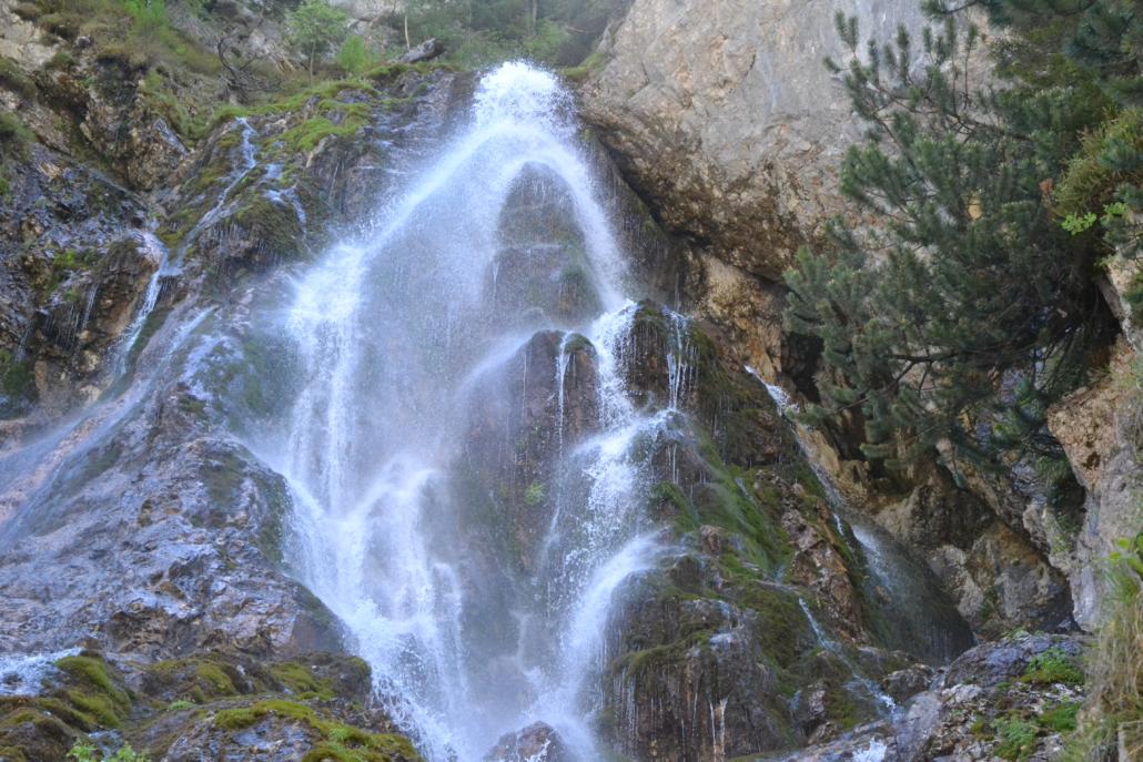 Schleierwasserfall-Silberkarklamm Ramsau am Dachstein