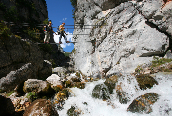 Hias Klettersteig-Silberkarklamm Ramsau am Dachstein