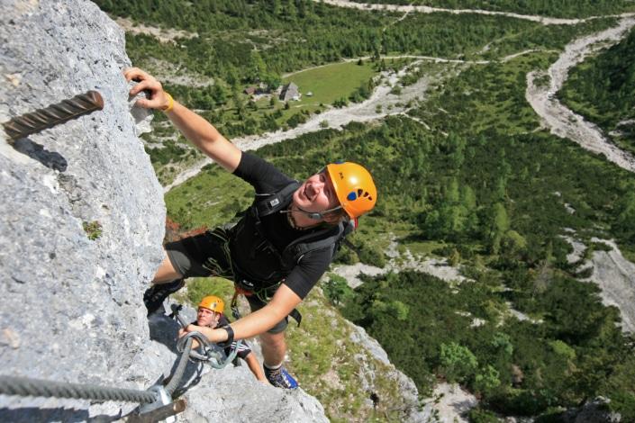 Siega Klettersteig im Silberkar