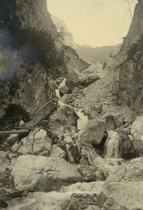 Geschichte der Silberkarklamm