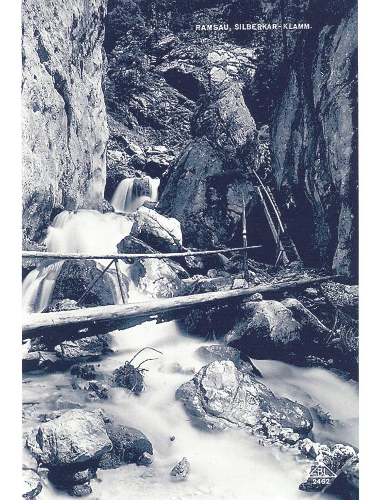 Silberkarklamm, alte Postkarte