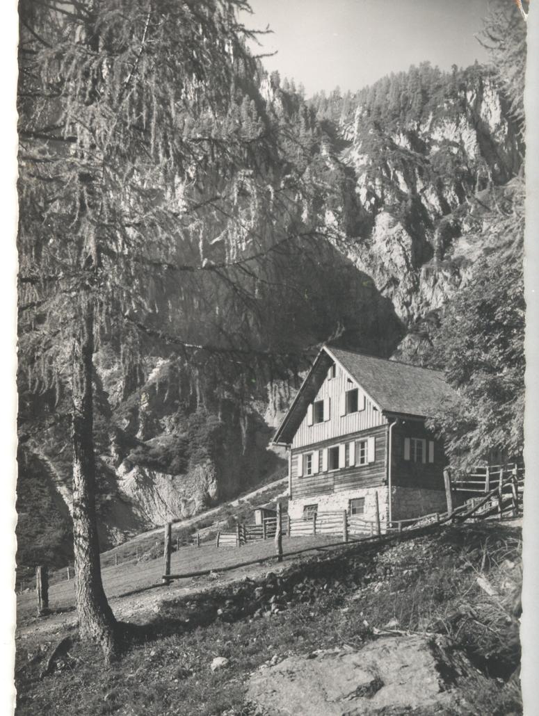 Silberkarhütte - altes Foto