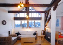 Apartment 55m² Wohnbereich, Bacherhof