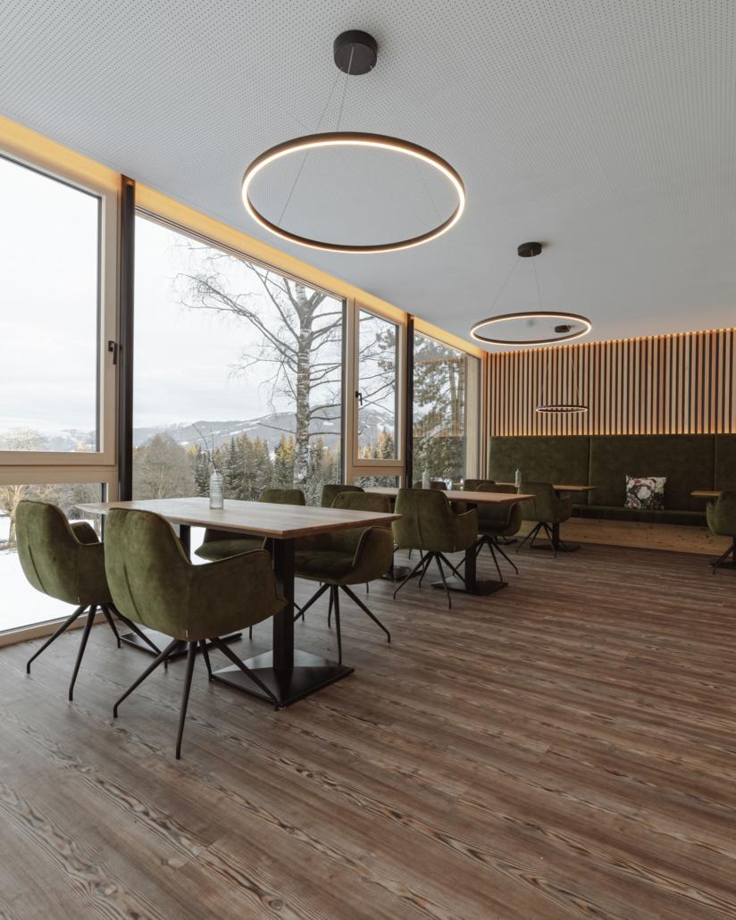 Bacherhof Wintergarten Innenansicht